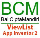 ViewList App Inventor 2